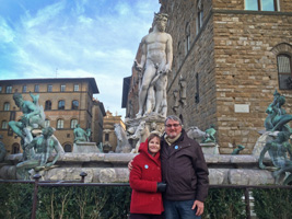 Tavel to Italy - Piazza d. Signoria in Florence
